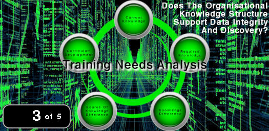 Image of a Training Needs Analysis structure.