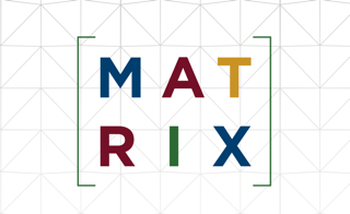 Image of the word MATRIX displayed as a matrix.